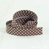 "Bias tape ""brown dots"""