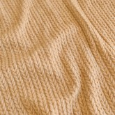 "KNIT cable ""wheat"""
