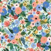 "COTTON ""petite garden party blue"""