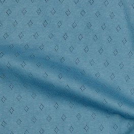 """JERSEY pointoille """"blue"""""""