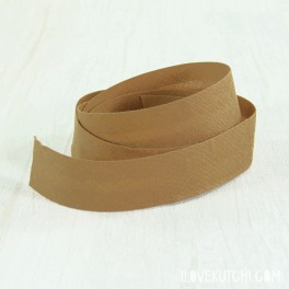 "Bias tape ""camel dark"""