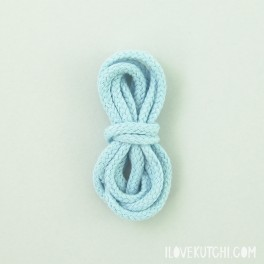 "Cotton cord ""light blue"""
