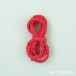 """Cotton cord """"red"""""""