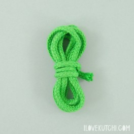 "Cotton cord ""green"""