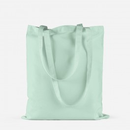 "Tote bag ""pastel mint"""