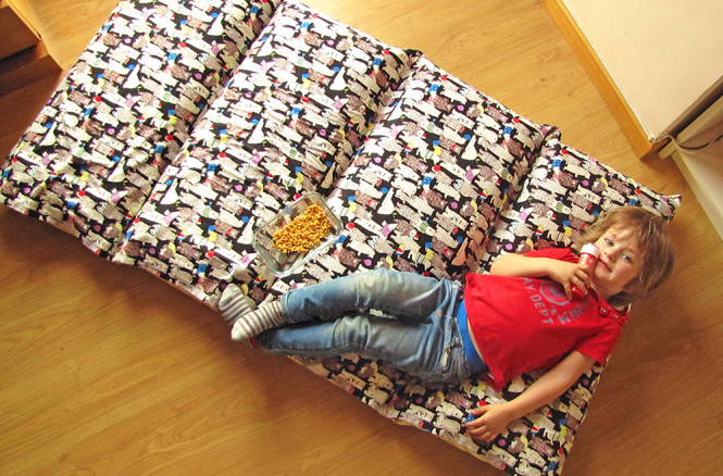 TUTORIAL PILLOW BED